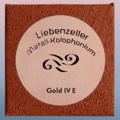 Liebenzeller Gold-IV E Rosin (For Cello )