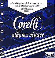 Corelli Alliance Vivace Violin Set (E String Loop End)