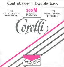Corelli Double Bass Tungsten Set (orchestra & solo)
