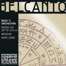Belcanto Duoble Bass C extension string