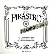Piranito Cello D String (Steel/Chrome)