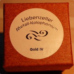 Liebenzeller Gold-IV Rosin ( For Cello )