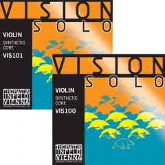 Vision Solo Violin Set  ( with silver D string)