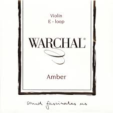 Warchal Amber Violin Steel Alloy E String (Ball End)