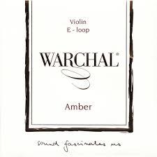 Warchal Amber Violin Steel Alloy E String (Loop End)