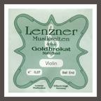 Lenzner Goldbrokat Violin E String 27