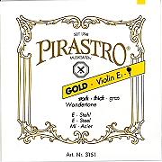 Gold Label Wondertone  Violin E String (Loop End)