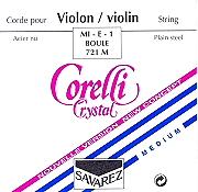 Corelli Crystal Violin Set (E String Loop End)