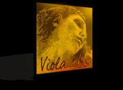 Evah Pirazzi Gold Viola Set