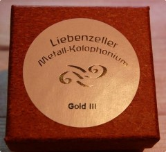 Liebenzeller Gold-III Rosin ( For Viola and Cello )