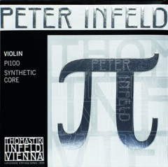 PI-Peter Infeld Violin Set  (with tin plated E string , silver D string)